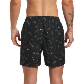 "Nike Swim Logofetti 5"" Volley Shorts Men black"